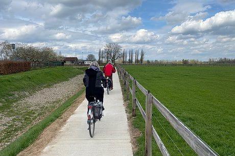 fietspad Spijk Lobith